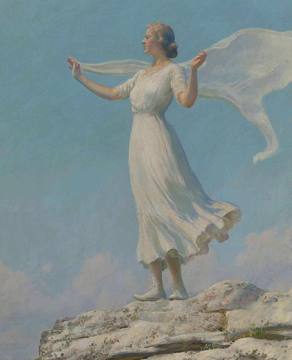 Charles Courtney Curran, The South Wind, 1917