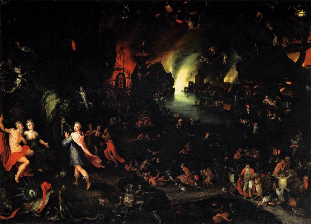 Orpheus in the Underworld by Jan Brueghel (I)