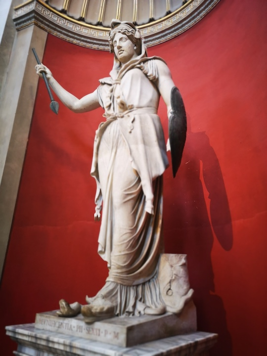 Statue of the goddess Juno in Vatican