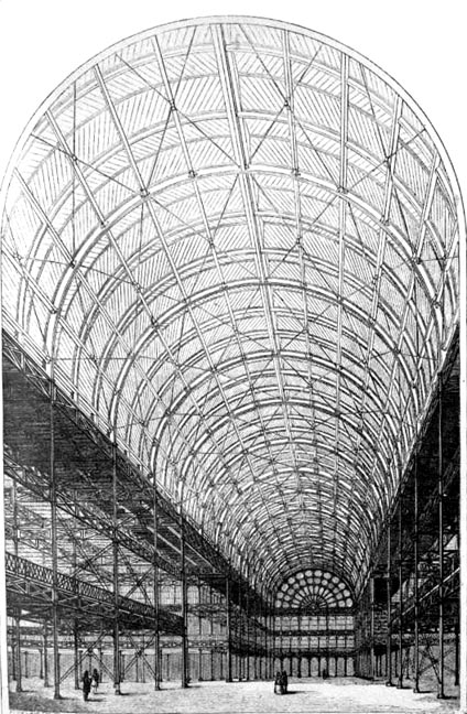 Vaulted roof from the Victorian era