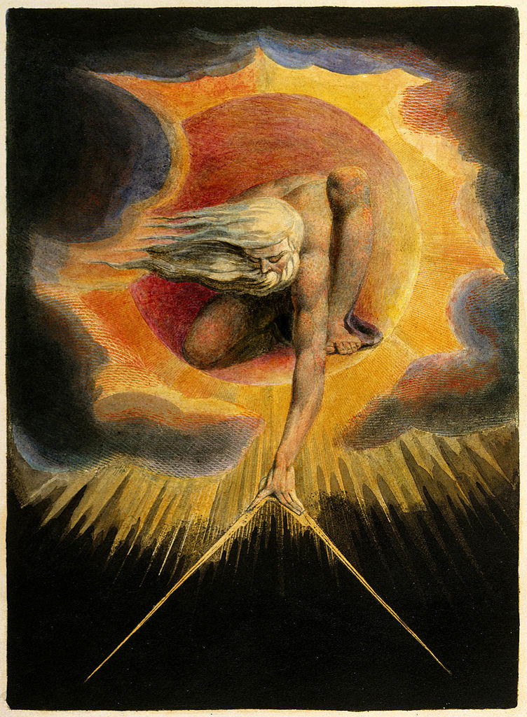 William Blake, Ancient of Days painting