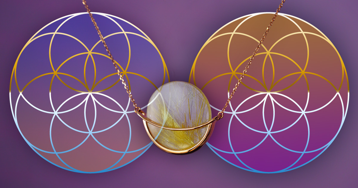 Circles and geometry in jewellery