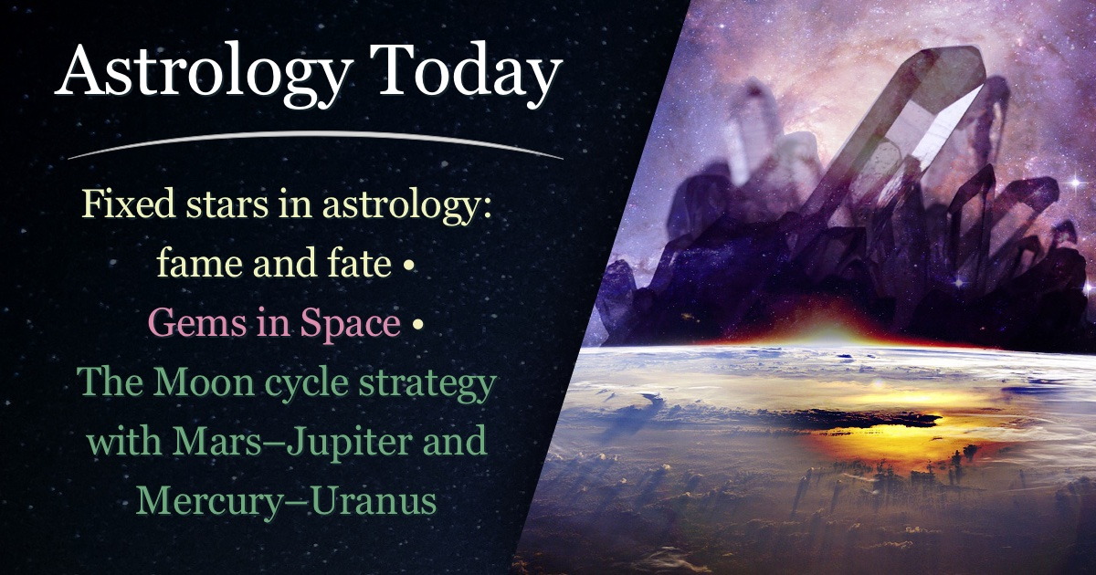 Astrology Today, astro news update, issue 012