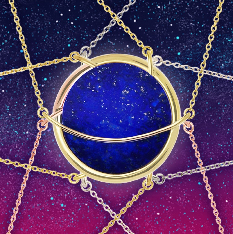 Major astrological aspects and sacred geometry