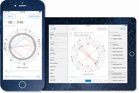 Time Nomad FREE astrology app for iPhone and iPad